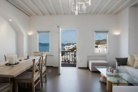 SeaBlue Venice House 3, in Mykonos Town / Sea View