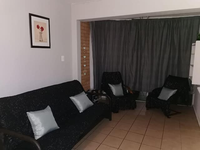 Lounge Area with Double Bed Sleeper Couch
