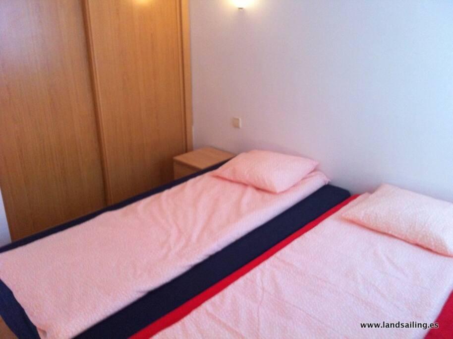 Dormitorio privado / compartido para 2 personas