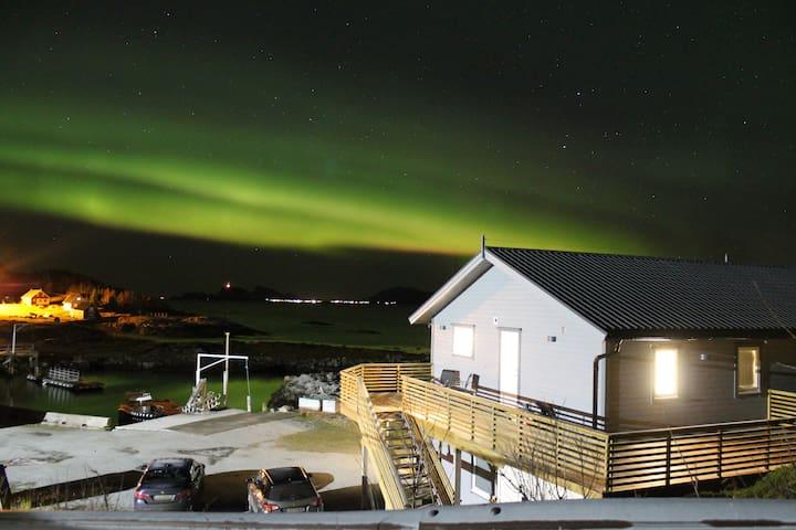 Sea-apartments for rent on north Senja. Laukvik - Botnhamn - Wohnung