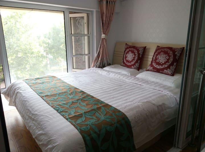 蓬莱阁海边悦动港湾悦馨海景复式公寓