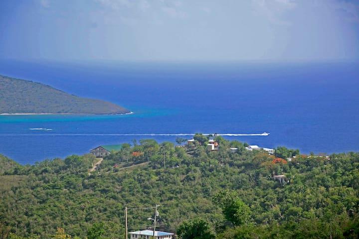 BREATHTAKING views of the Caribbean Ocean!!!