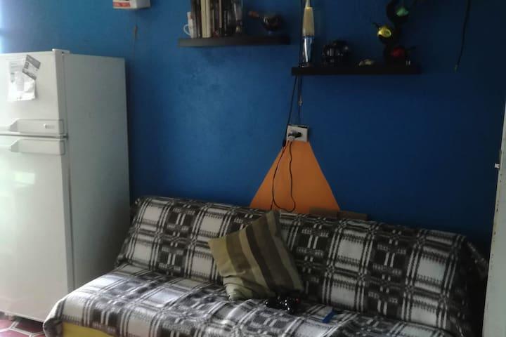 Mi little blue home.