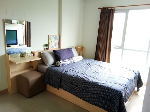 Cozy 1BR for Suvarnabhumi stop over