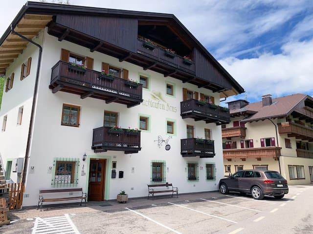 Appartamento situato nel cuore delle Dolomiti