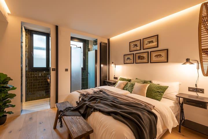 Renovado y céntrico apartamento con A/C by SAH