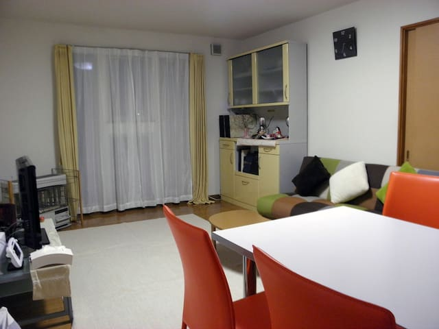 71㎡ 広々快適 認可ゲストハウス アナベル - Hakodate - Condominium