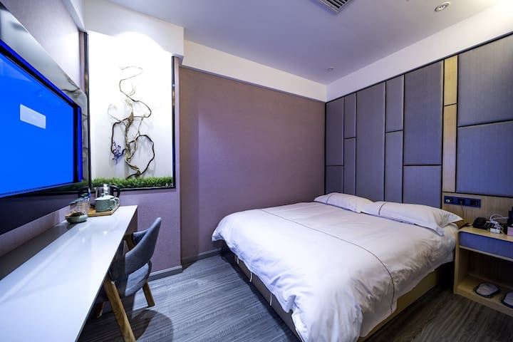 Vyluk·J蔚徕酒店商务大床房.上海虹桥枢纽(不含早)