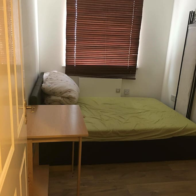 Single room, double bed