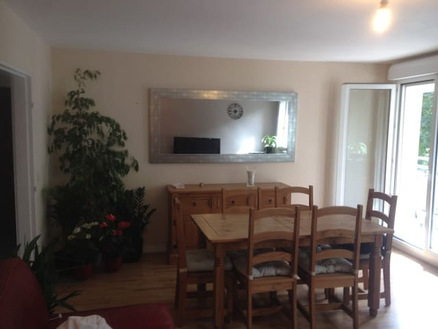 Chambre privée et confortable en ville - Évreux - Apartment