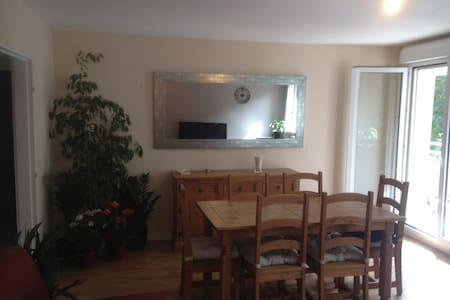 Chambre privée et confortable en ville - Évreux - Byt
