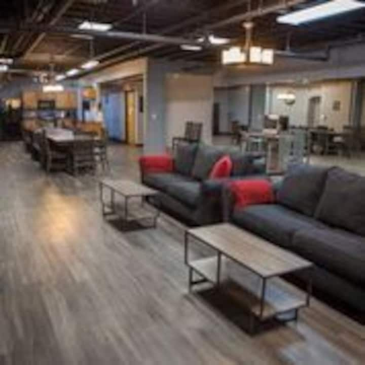 The MANCAVE! - Team House that sleeps up to 20!