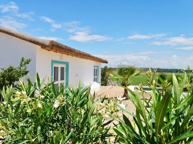 Comporta 1 bedroom 3mn plage garden & pool