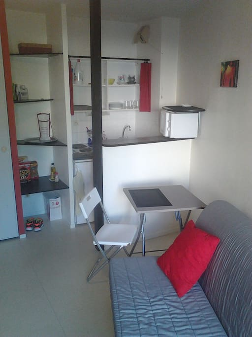 studio proche erdre et universit apartments for rent in nantes pays de la loire france. Black Bedroom Furniture Sets. Home Design Ideas