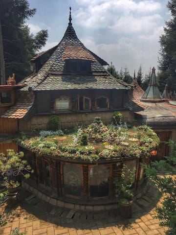 ¡Magical house in the middle of the Woods in CDMX!