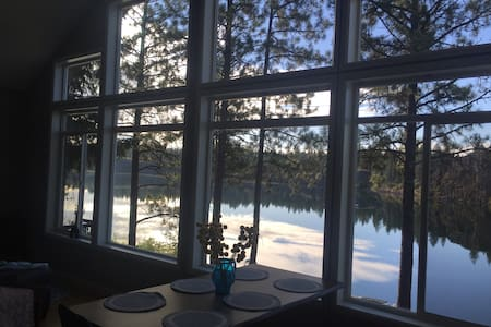 Spokane Lakefront Home - Cheney - Srub