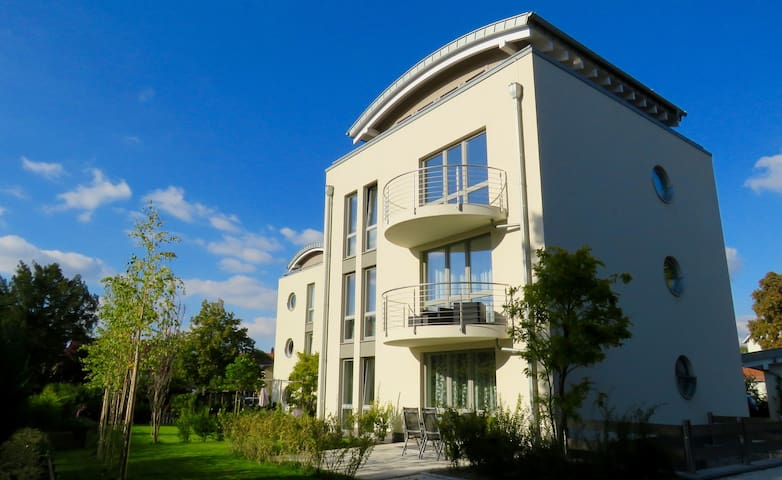 Apartment Monopol Garden - Luxus Ferienwohnung - Wernigerode