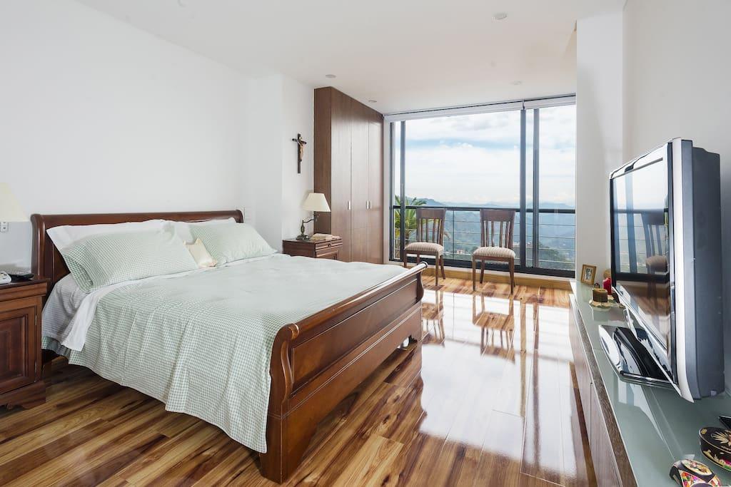 Alcoba principal (Master bedroom)