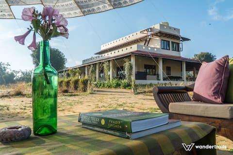 Luxury Jungle Home in Kanha
