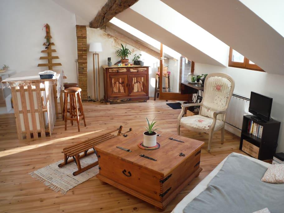 Chambre priv e dans appart de charme appartements for Chambre de charme provence