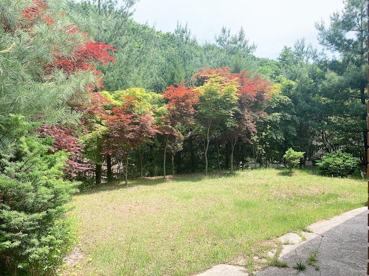 서울에서 가까운 정원이 있는 전원주택