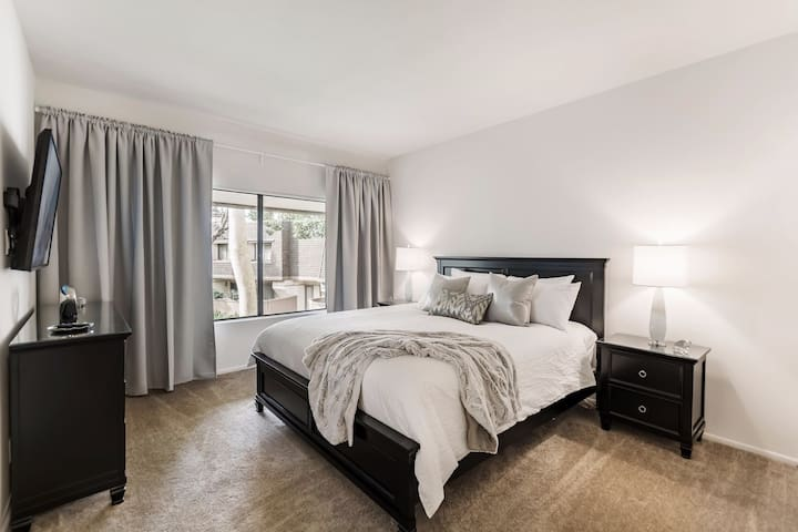 Serene Master Bedroom with Super Comfy Cal King Bed
