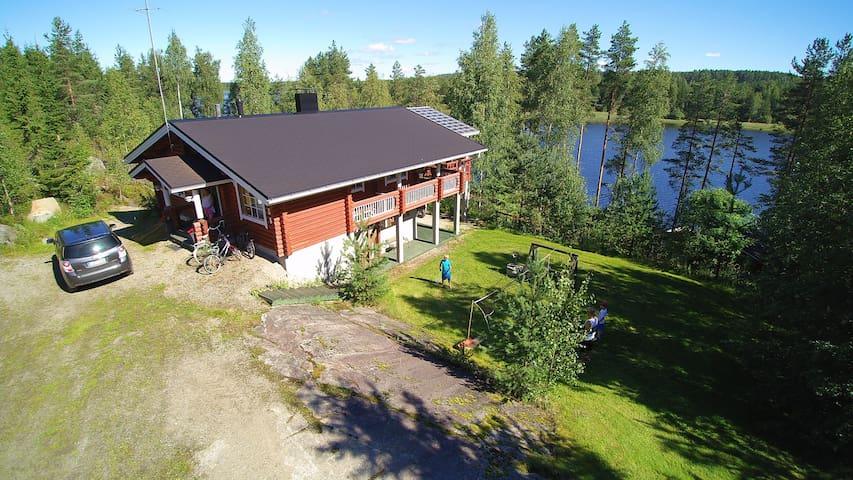 Cabin by the lake - Kangasniemi - House