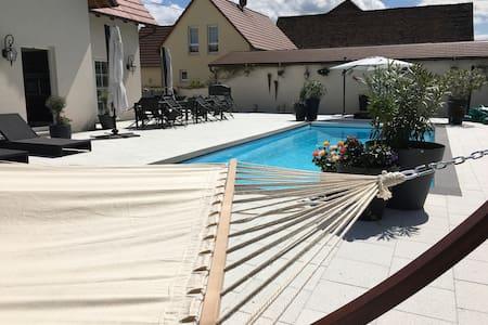 Villa martini  2 chambres piscine - Meistratzheim