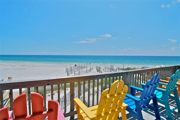 Gulf Front Beauty with Million Dollar Views!! - Port Saint Joe - Haus