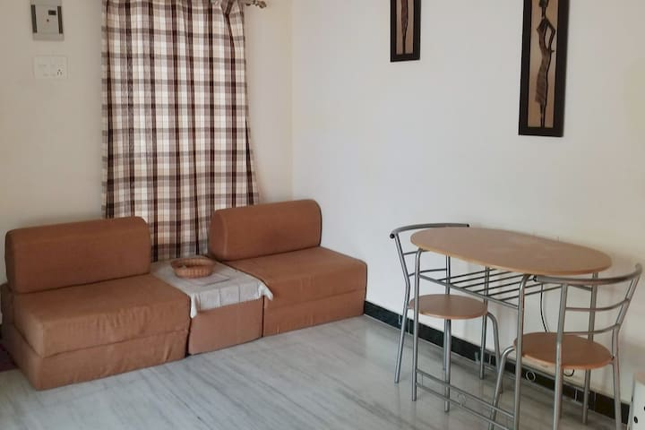 Suite 1  Living Room