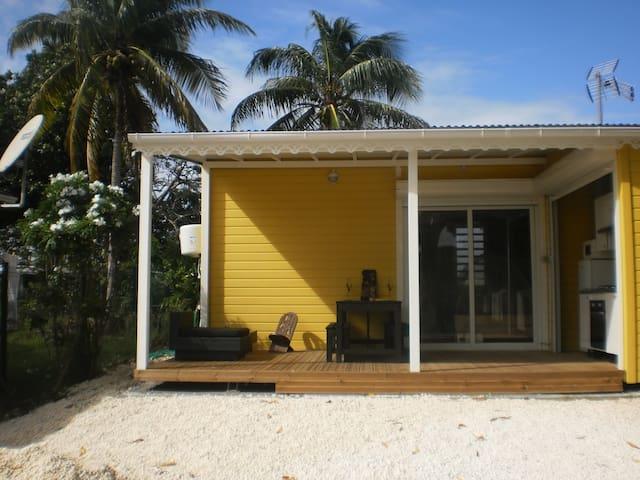 Le gîte jaune - Banglo