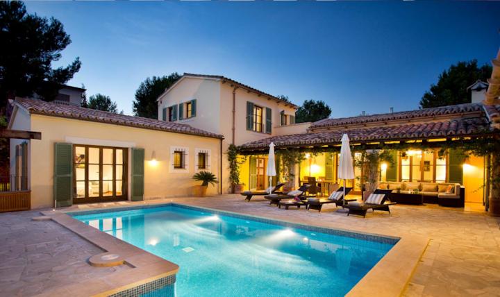Luxurious Finca Style Home in Nova Santa Ponsa