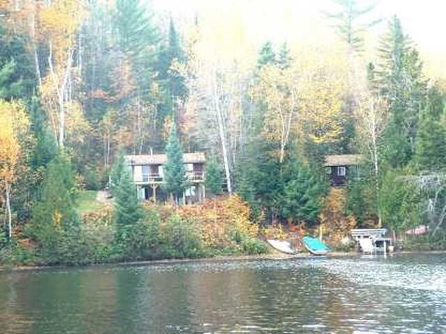 3 lakeside cabins - Otter Lake