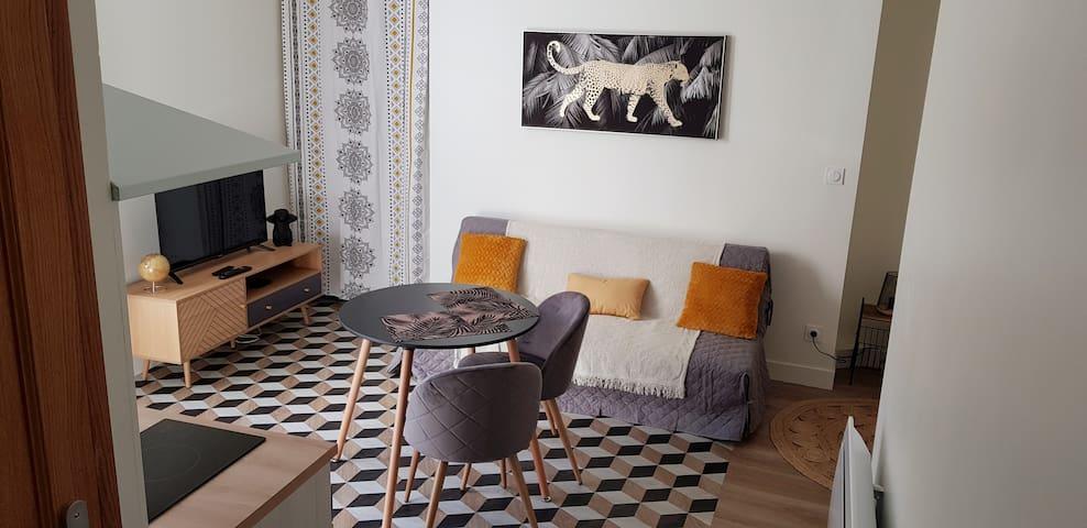 🌟🌟Charmant Studio 🌟🌟Au Bout Du Pont De Fil
