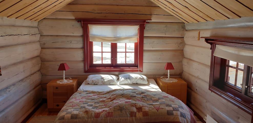 Beedrom 4. Queen-size bed in Annex.
