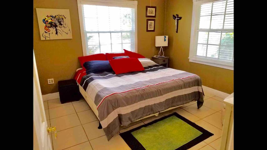 Private Room 5Min From Miami International Airport