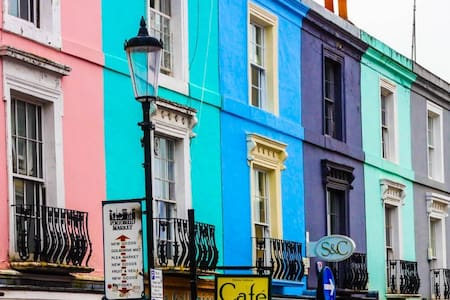 Dbl Notting Hill,Kensington-near tube & Portobello - Londres - Apartamento