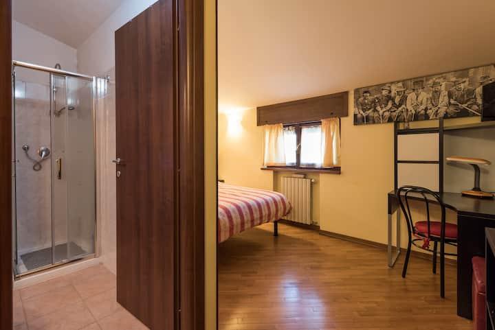 Camera doppia con bagno privato - B&b Amelie