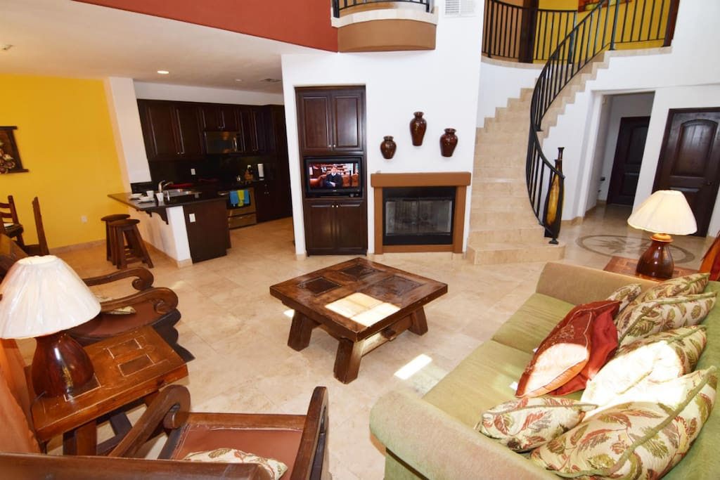 san felipe vacation rental condo 414 - open floor plan