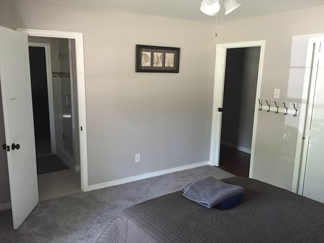 Access to shared Jack-and-Jill Bathroom w/ shower
