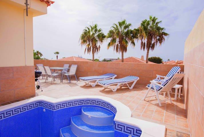 Villa Olga,Sueno Azul, 2 bed - Adeje - Dům