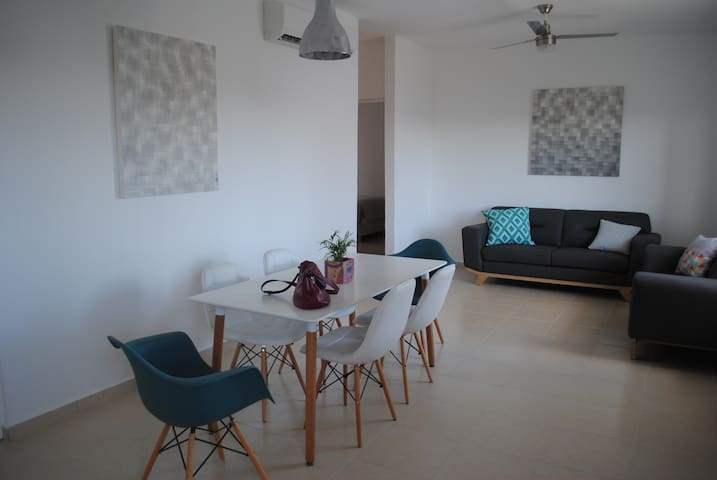 Brand new apartment close to the beach