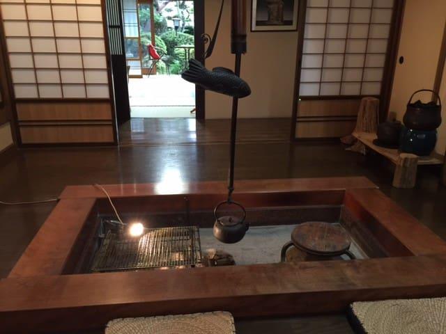 Murasaki 2 ~紫花~Kagura Japanese style Room2 - Takayama - Bed & Breakfast