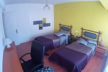 Habitación doble. Doble bedroom