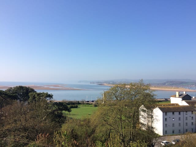 Seaside apartment with spectacular views - Exmouth - Apartamento