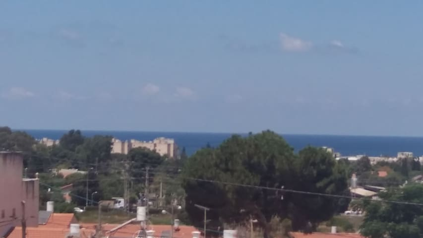 Family apart -   balcony with sea view Nahariya