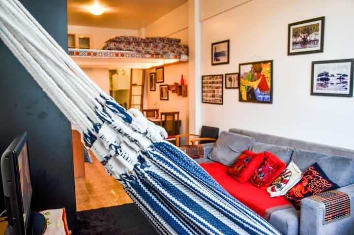 Spacious and cozy Studio Apt. in Glória.