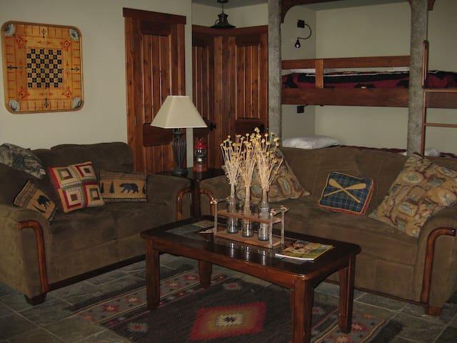 Downstairs Bunkroom