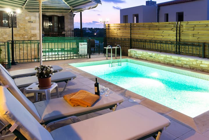 Villa in Rethymno with private pool - Rethymno