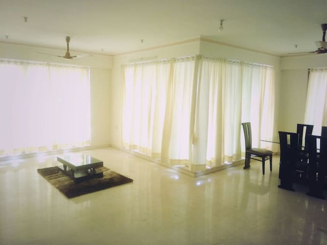 Cozy Apartment with B&B in Powai - Mumbaj - Apartament